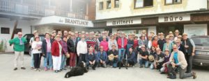 Gruppenfoto TABBERT Kundentreff Alpbachtal
