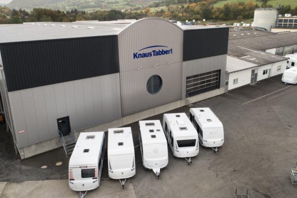 TABBERT als Arbeitgeber – Jobs bei Knaus Tabbert am Produktionsstandort in Mottgers