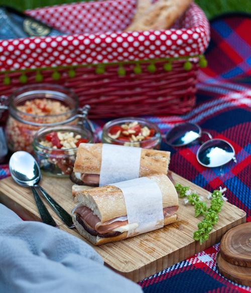 Rezept von Nur 5 Zutaten Blog, Picknick Rezept, Picknick mit TABBERT – © Kateryna Kogan