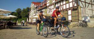 Radfahrer - Deutsche Märchenstraße