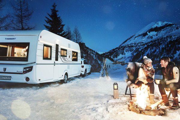 Wintercamping mit TABBERT