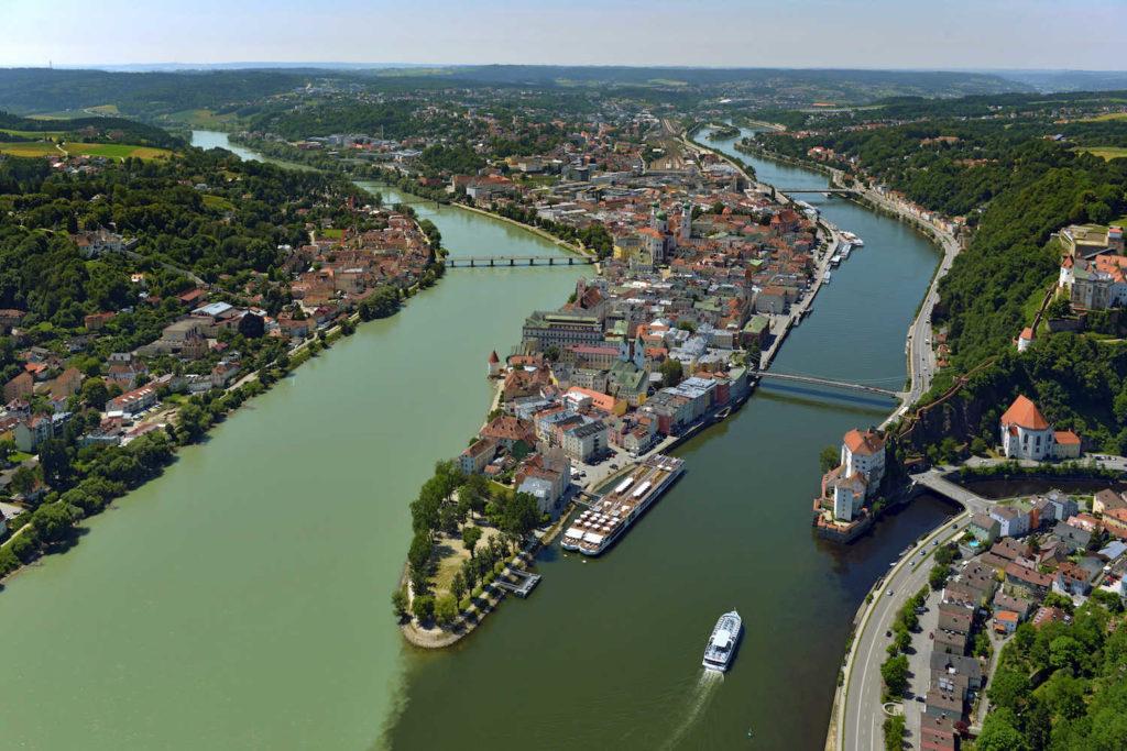 Dreiflüsseeck Passau