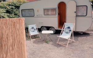 Restaurierter TABBERT Wohnwagen